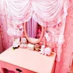 Pink Room 全体図2021.2 ドレッサー